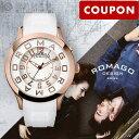【ポイント最大36倍】【3500円割引クーポン】ロマゴデザイン ROMAGODESIGN Attraction series (アトラクションシリーズ) RM015-0162PL-RGWH [正規品] メンズ&レディース 腕時計 時計
