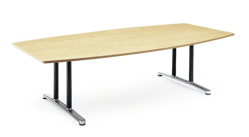 【送料無料】ミーティングテーブルWALテーブル会議テーブル【ボート形】(WAL-2412BM1)【カラー選べます】 送料無料(北海道、沖縄県、離島への配送は有料となります)