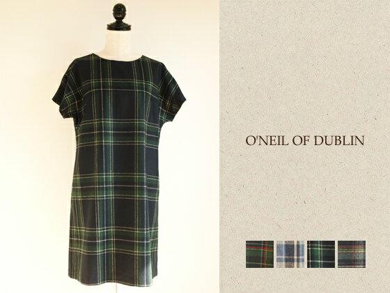 【スーパーセール中、5%オフクーポン配布中!一部対象外商品あり】O'NEIL OF DUBLIN (オニール オブ ダブリン) フレンチスリーブワンピース