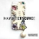 【送料無料】☆mayu meets cuvee ダイナソーとパールのiPhoneケース ロンハーマン