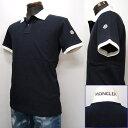 MONCLER メンズ ポロシャツ[38052] ネイビーXホワイト系 091 8309850 84556 773