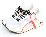OFF-WHITE×NIKE/オフホワイト×ナイキ ズームフライ スニーカー THE TEN ZOOM FLY AJ4588-100 サイズ:25.5cm カラー:ホワイト