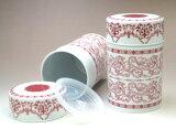 """杜尔罐装茶叶罐""""皇家红"""" - 为明天音乐;[ティーキャディー デュール缶 「ロイヤルレッド」]"""