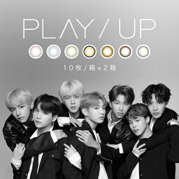 PLAY/UP 1DAY meet BTS プレイアップワンデー(2箱SET×10枚入り/全7色)BTS (防弾少年団)イメージモデル