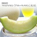 マスクメロン 【静岡】 マスクメロン 化粧箱入り 大1玉入り(1玉1.4kg)