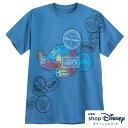 ディズニー Disney US公式 レディース メンズ兼用 ミッキーマウス Tシャツ 半袖