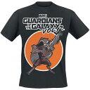マーベル Marvel ガーディアンズ・オブ・ギャラクシー ロケット ラクーン Tシャツ 半袖 レディース メンズ