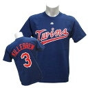 MLB ツインズ ハーモン・キルブルー Tシャツ ネイビー マジェスティック Cooperstown Player Name & Number Tシャツ