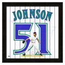 お取り寄せ MLB ダイヤモンドバックス ランディ・ジョンソン フォト ファイル/Photo File UNIFRAME 20 x 20 Framed Photographic