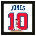 お取り寄せ MLB ブレーブス チッパー・ジョーンズ フォト ファイル/Photo File UNIFRAME 20 x 20 Framed Photographic
