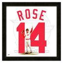 お取り寄せ MLB レッズ ピート・ローズ フォト ファイル/Photo File UNIFRAME 20 x 20 Framed Photographic
