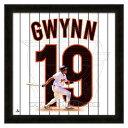 お取り寄せ MLB パドレス トニー・グウィン フォト ファイル/Photo File UNIFRAME 20 x 20 Framed Photographic
