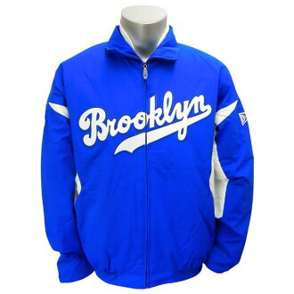 MLB Brooklyn Dodgers Cooperstown Authentic Triple Peak Premier jacket (royal) Majestic