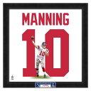 お取り寄せ NFL ジャイアンツ イーライ・マニング フォト ファイル/Photo File UNIFRAME 20 x 20 Framed Photographic