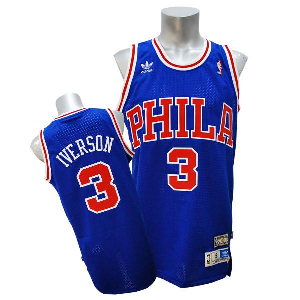 NBA 76ers アレン・アイバーソン Soul Swingman ユニフォーム アディダス/Adidas 50 Year Anniv