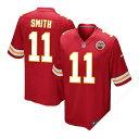 お取り寄せ お取り寄せ NFL チーフス アレックス・スミス ユニフォーム レッド ナイキ Game ユニフォーム