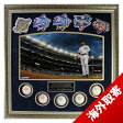 MLB ヤンキース デレク・ジーター Derek Jeter Framed 24x24 World Series Titles Collage w/ 5 World Series Baseボールs & Patches Steiner Sports