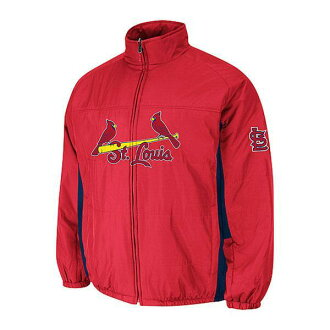 MLB St. Louis Cardinals Authentic Double Climate On-Field jacket (red) Majestic