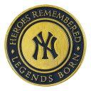 MLB ヤンキース ピンバッジ ハードロック カフェ ヤンキースタジアム 2012 レアアイテム