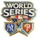 MLB ヤンキース ピンバッジ ワールド・シリーズ 2009 ヤンキース vs フィリーズ