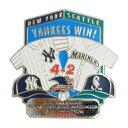 MLB リーグチャンピオンシップ 2000 ヤンキース vs マリナーズ ピンバッジ