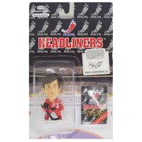 NHL ジョン・バンビーズブラック ヘッドライナーズ 1996 エディション NIB フィギュア コリンシアン/Corinthian レアモデル