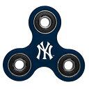 ショッピングハンドスピナー MLB ヤンキース 3 ウェイ ディズトラクト スピナー Forever Collectibles【1910価格変更】