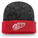ショッピングニットキャップ NHL レッドウィングス ニットキャップ/ニット帽 アイコニック カフ ニット