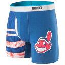 ショッピングit MLB クリーブランド・インディアンス ショートパンツ/ショーツ ボクサーブリーフ アンダーウェア Stance ネイビー