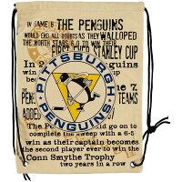 【取寄】 NHL  ヒストリック キャンバス ドローストリング バックパック - NHL海外限定ジムサック取寄受付スタート!!