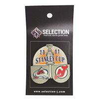 NHL ピンバッジ/ピンズ 2001 スタンレーカップ レアアイテム - レアな海外限定アイテム!NHLのピンバッジが新入荷!!