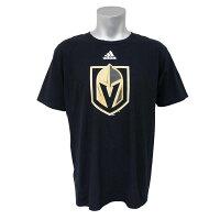 NHL ゴールデンナイツ Tシャツ 半袖 プライマリーロゴ アディダス/Adidas ブラック - NHL新興チーム、ゴールデンナイツのTシャツが新登場!