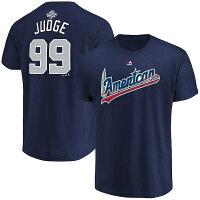【取寄】 Majestic MLB  2018 オールスターゲーム ネーム&ナンバー Tシャツ - MLBオールスター2018ネームナンバーTシャツ予約取寄受付開始!
