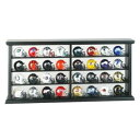 NFL 32 Piece Wood Display セット Riddell