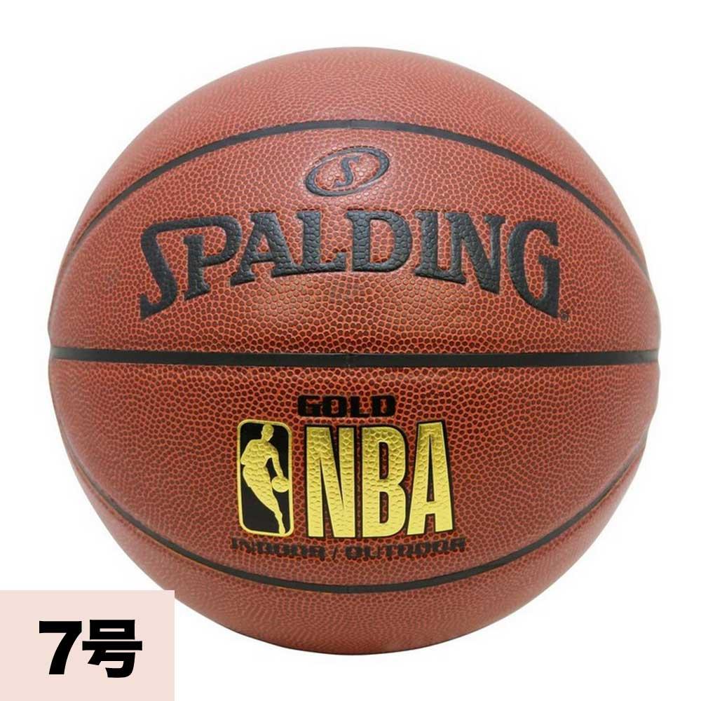 お取り寄せ NBA バスケットボール 7号球 スポルディング/SPALDING GOLD LOGO JBA公認球