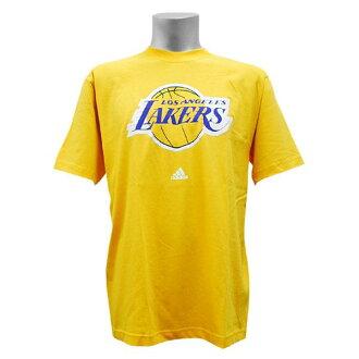 NBA Full Primary Logo Short Sleeve T shirt Los Angeles Lakers (yellow)