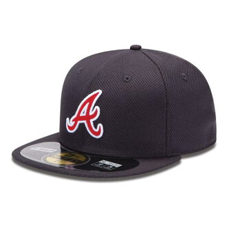2013 MLB Atlanta Braves Authentic Diamond Era 59FIFTY BP cap (game) New Era