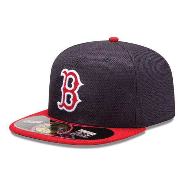 2013 MLB Boston Red Sox Authentic Diamond Era 59FIFTY BP cap (game) New Era