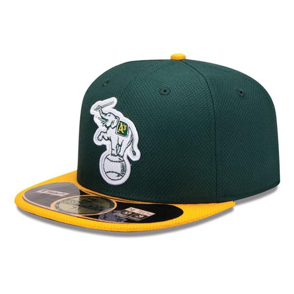 MLB Athletics Cap game new era/New Era (Cap of the BP of Era 59FIFTY Authentic Diamond 2013)