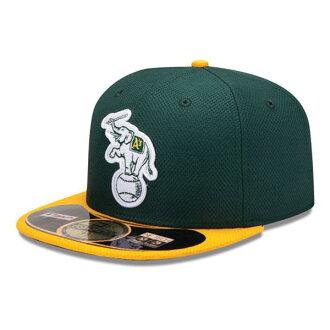 2013 MLB Oakland Athletics Authentic Diamond Era 59FIFTY BP cap (game) New Era