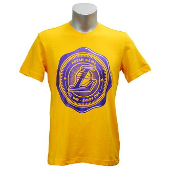 NBA Los Angeles Lakers Summer Run T-shirt (yellow) Adidas