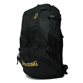 NBA CAGER backpack (black / gold) SPALDING