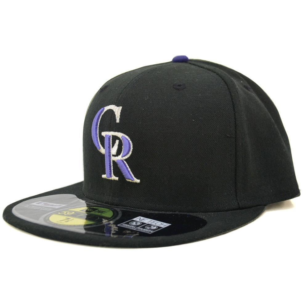 New Era MLB Colorado Rockies Authentic Performance On-Field Cap (game)