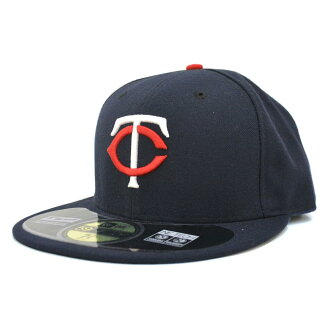 MLB Minnesota Twins Authentic Performance On-Field cap (home) New Era