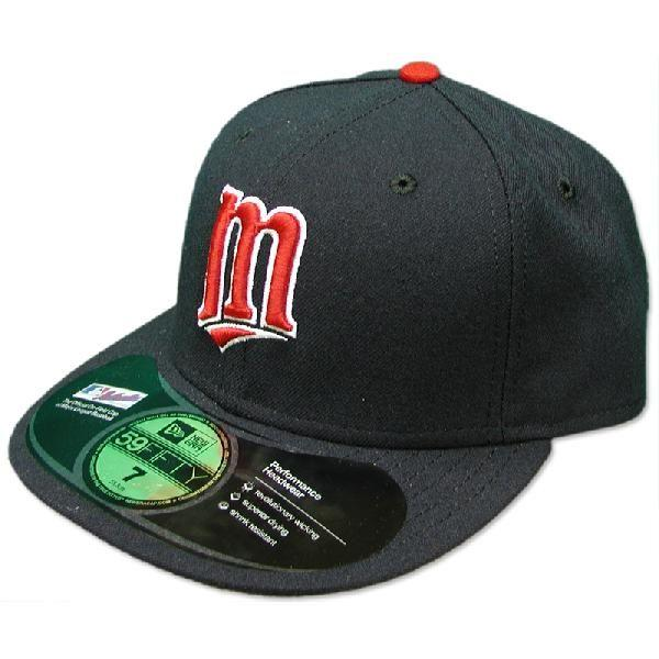 New Era MLB Minnesota Twins Authentic Performance On-Field Cap (alternate)