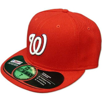 New Era MLB Washington nationals Authentic Performance On-Field Cap (home)