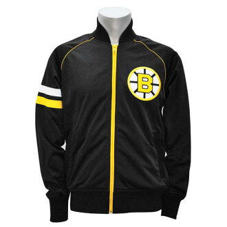 NHL Draft Day Track Jacket Boston Bruins (black) Mitchell &Ness