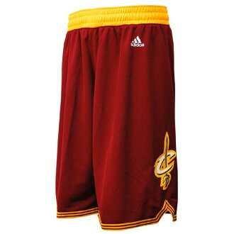 NBA Cavaliers shorts road adidas Revolution Swingman shorts