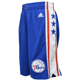 And NBA Revolution Swingman shorts Philadelphia 76ers (load) Adidas