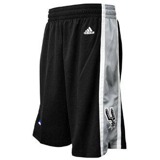 NBA San Antonio Spurs shorts road adidas Revolution Swingman shorts